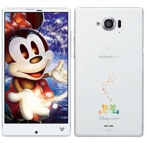 043_Disney Mobile on docomo SH-02G