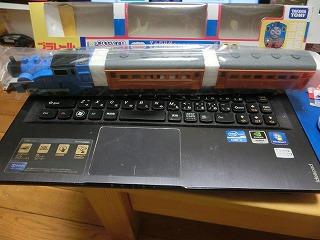 プラレール「大井川鉄道きかんしゃトーマス号」