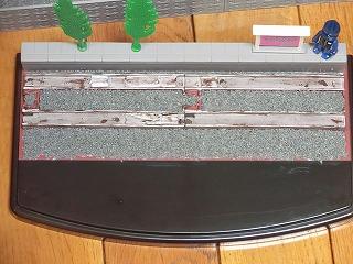 マスキングを剥がした「若桜鉄道 C12-167用 展示ケース」②