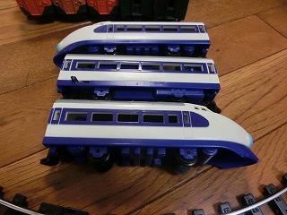 スーパーレール 0系新幹線(青鼻)側面