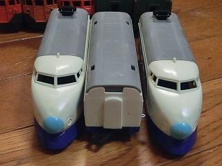 スーパーレール 0系新幹線(青鼻)前面&妻面
