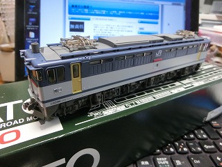 KATO「EF65 1000番台 後期形(JR貨物2次更新色)」 車両④