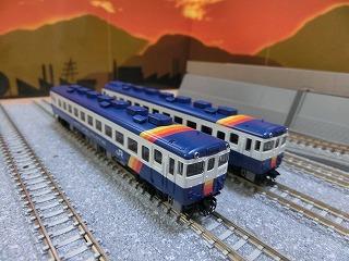 パーツ取付前のTOMIX「キハ58系 飯山線セット」