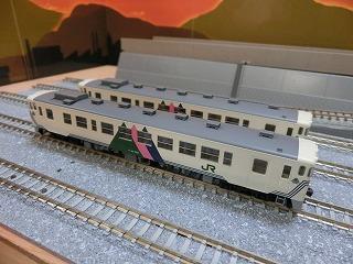 パーツ取付前の「宮沢模型 キハ40-500(左沢線)セット」
