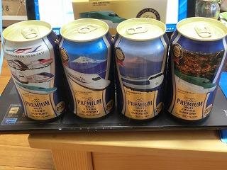 ベストセレクションに選ばれた新幹線デザイン缶