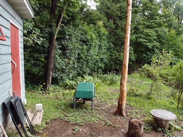 薪小屋設置場所