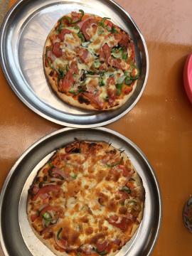 ピザ焼き職員との交流会29年度3
