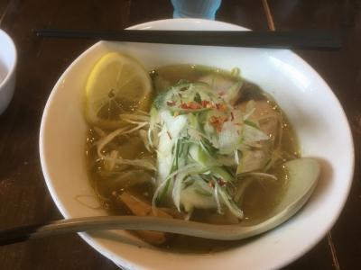 グリーンカレー麺(上)