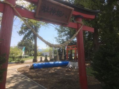 法光院別院跡北西端にある八坂神社