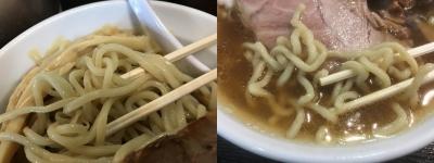 ラーメンとつけ麺の比較