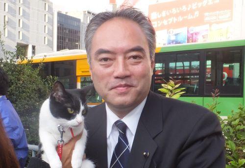 東京都議会議員田中豪先生 500