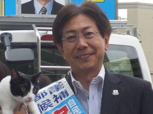 都議会議員 宇田川さとし先生 500