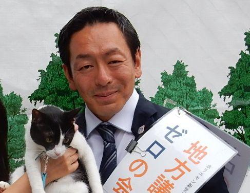 東京都議会議員候補 飯田佳宏さん 候補 500