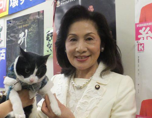 糸数けいこ先生と猫ジャンヌ 女同士 500