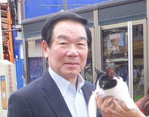 衆議院議員 額賀福志郎先生 500
