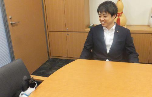 武藤貴也先生は猫の話を聞いてくださいました500