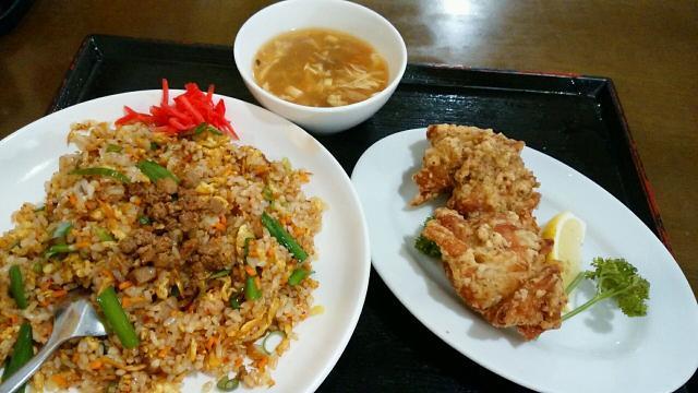 台湾炒飯ランチ