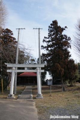 鹿島神社(越谷市平方)1
