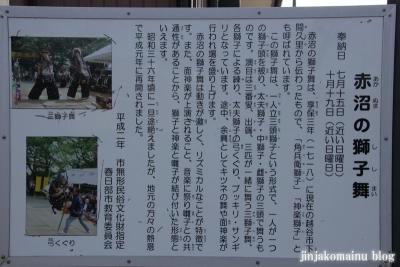 赤沼神社(春日部市赤沼)6