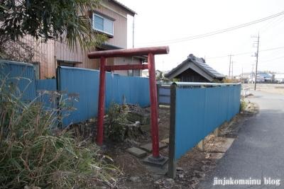 稲荷社(春日部市赤沼)1