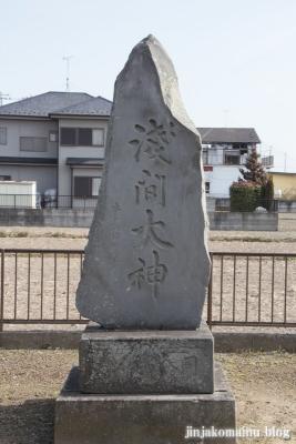 雷電神社(春日部市永沼)10