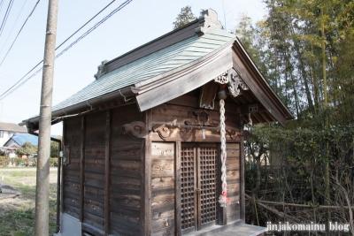 藤崎稲荷大明神(春日部市下柳)4