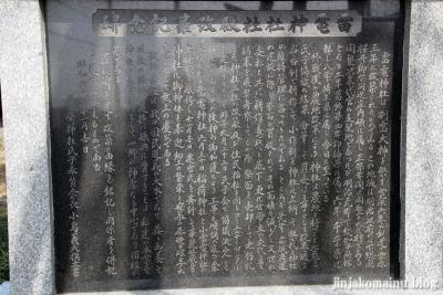 雷電神社(春日部市下柳)8