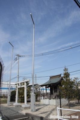 稲荷神社(春日部市下柳)1