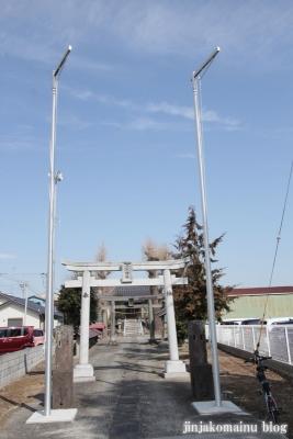 香取神社(春日部市下柳)1