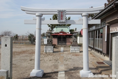 下谷神社(春日部市不動院野)2