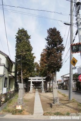 白山神社(春日部市樋堀)1
