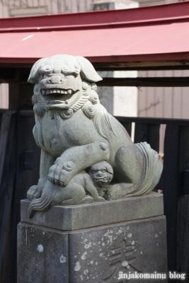 粕壁神明社(春日部市)6