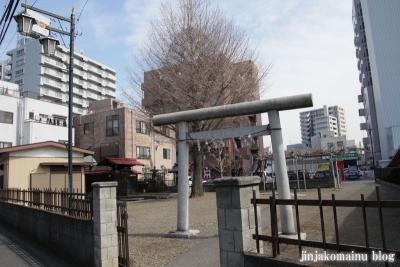 粕壁神明社(春日部市)1