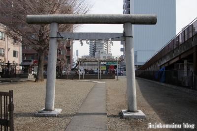 粕壁神明社(春日部市)2