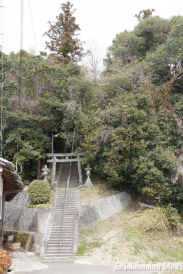 板蓋神社(高市郡明日香村川原931)1