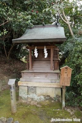 飛鳥座神社(高市郡明日香村飛鳥707番地11)