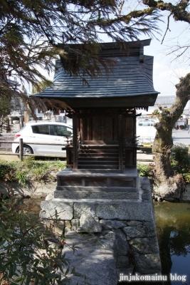 甘樫坐神社(高市郡明日香村大字豊浦字寺内639)