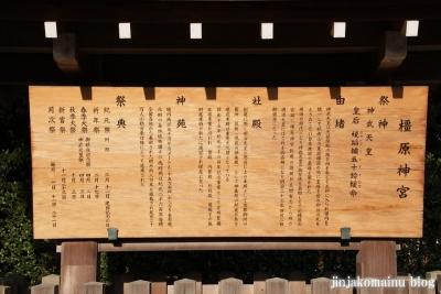 樫原神宮(橿原市久米町)2