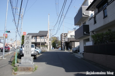 住吉神社(横浜市港北区小机町)1