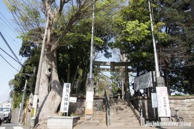篠原八幡神社(横浜市港北区篠原町)1