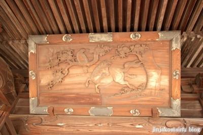篠原八幡神社(横浜市港北区篠原町)6