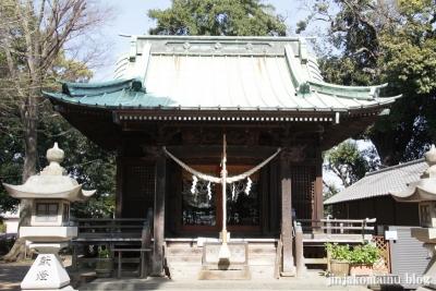 篠原八幡神社(横浜市港北区篠原町)7