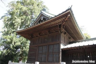 篠原八幡神社(横浜市港北区篠原町)9