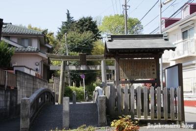 八杉神社(横浜市港北区大豆戸町)1