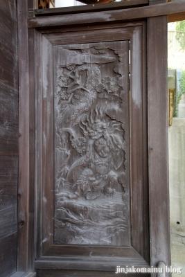 八杉神社(横浜市港北区大豆戸町)14