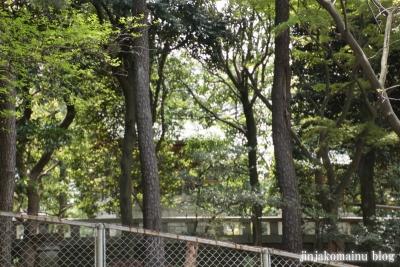 東横神社(横浜市港北区大曾根台)1
