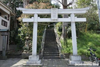 八幡神社(横浜市港北区大曾根台)1