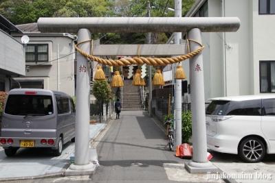 太尾神社(横浜市港北区大倉山)3