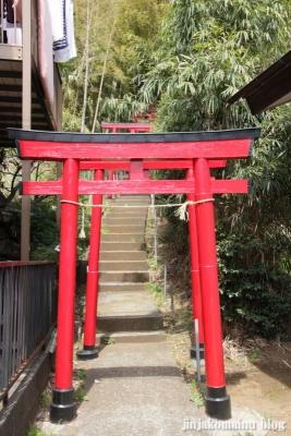 稲荷神社(横浜市港北区新吉田町)1