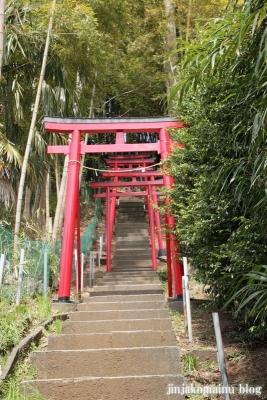 稲荷神社(横浜市港北区新吉田町)2